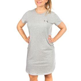 Calvin Klein One Cotton Nightshirt - Grey