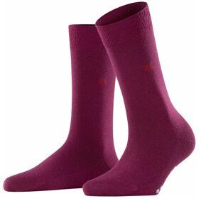 Burlington Bloomsbury Wool Sock - Wine red