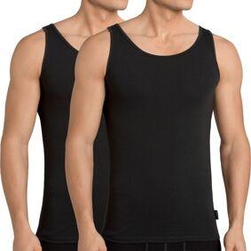 Sloggi 2-pakning Men 24 7 Vest - Black