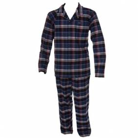 Jockey USA Originals Flannel Pyjama - Navy/Blue