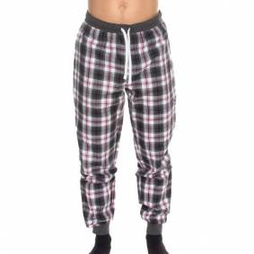 Hugo Boss BOSS Cosy Pyjama Pant - Grey check