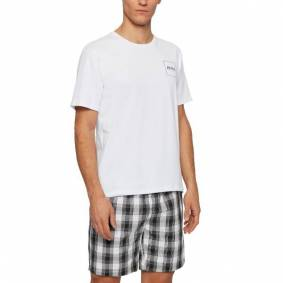 Hugo Boss BOSS Urban Short Pyjama - Black/White