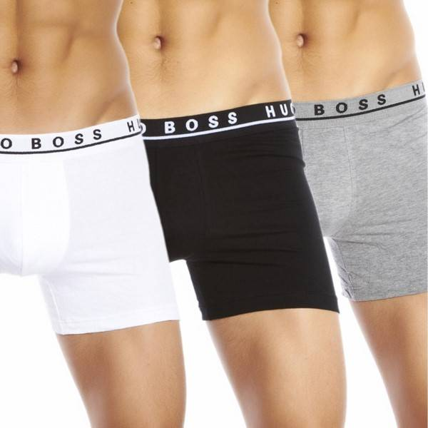 Hugo Boss 3-pakning Cotton Stretch Boxer Brief - Mixed