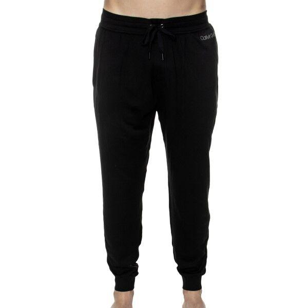 Calvin Klein Cotton Modal Lounge Jogger - Black
