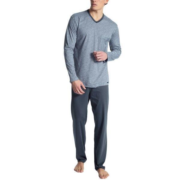 Calida Relax Streamline 1 Pyjama - Blue Striped