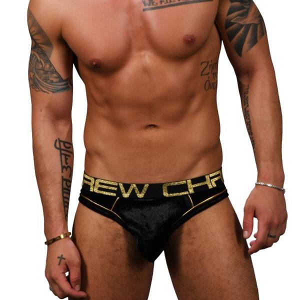 Andrew Christian Almost Naked Midnight Brief - Black