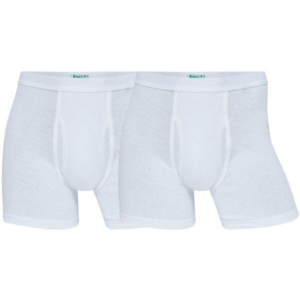 JBS 2-pakning Organic Cotton Tights - White