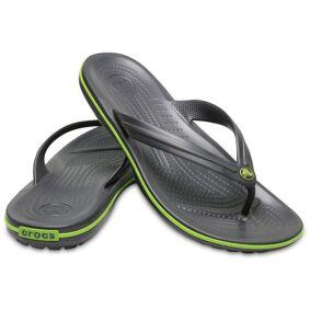 Crocs Crocband Flip Unisex - Black/Green