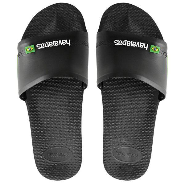 Havaianas Brasil Slide - Black