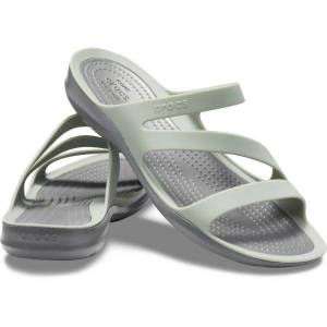 Crocs Swiftwater Sandal W - Mint green