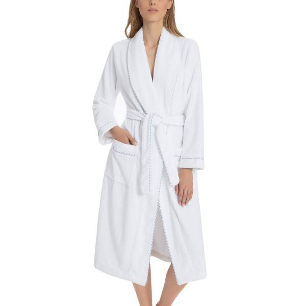 Calida After Shower Bathrobe - White
