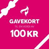 Gavekort - 100,-