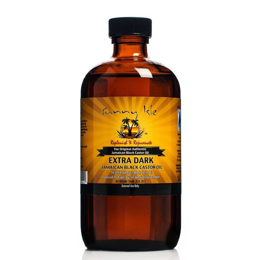 Sunny Isle Jamaican Black Castor Oil Sunny Isle Jamaican  Castor Oil  Extra Dark Jamaican Black 236ml