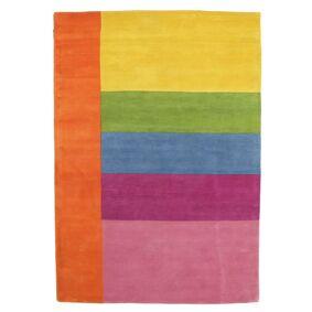 RugVista Barneteppe Colors By Meja Handtufted 160X230 Moderne Ull Orange/Lyserosa