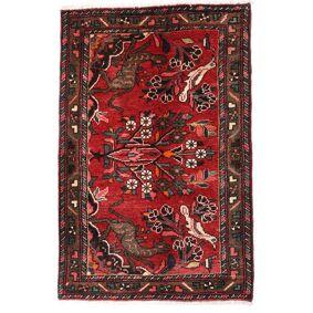 Håndknyttet. Opphav: Persia / Iran Håndknyttet Teppe Asadabad 70X106 Mørk Rød/Mørk Brun (Ull, Persia/Iran)