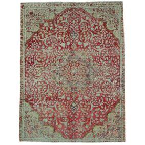 Håndknyttet. Opphav: Persia / Iran 237X317 Vintage Heritage Teppe Ekte Moderne Håndknyttet Lys Grå/Mørk Rød/Lysbrun (Ull, Persia/Iran)