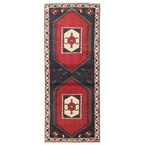 Håndknyttet. Opphav: Persia / Iran Orientalsk Klardasht Teppe 75X190 Teppeløpere Mørk Grå/Mørk Rød (Ull, Persia/Iran)