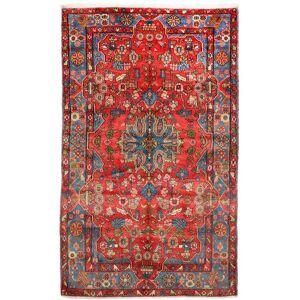 Håndknyttet. Opphav: Persia / Iran Orientalsk Nahavand Old Teppe 156X252 Mørk Rød/Rød (Ull, Persia/Iran)