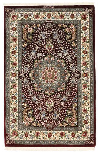 Ghom Kork / silke  teppe 100x155 Orientalsk Teppe