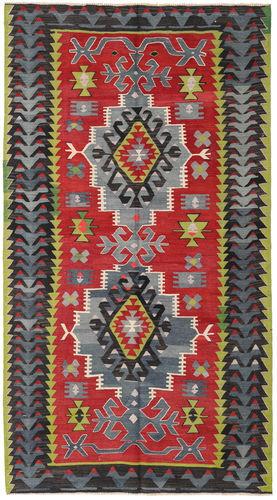 Kelim Tyrkiske  teppe 146x266 Orientalsk Teppe