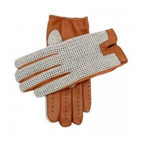 Dents Crochet Driving Gloves Cork (XL)