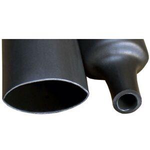 Krympestrømpe for 6-25mm kabel, 3cm, sort