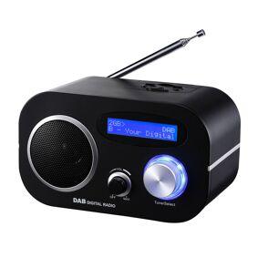 12V & 230V   Trius DB-80V DAB+/FM Radio, m.batteri