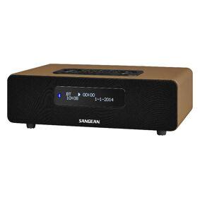 Sangean 12V & 230V Sangean DDR36 bordradio, brun