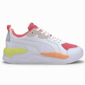 Puma X-Ray Game Sneakers Dame - Hvit / Rosa