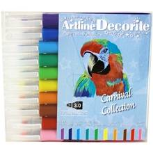 Artline Decorite Tusjpenner Kuttet Spiss Carnival
