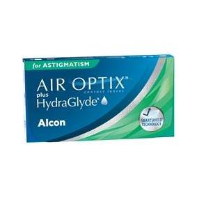 Alcon AIR OPTIX plus HydraGlyde for Astigmatism 6p