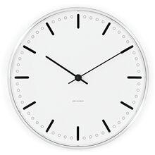 Arne Jacobsen City Hall Veggklokke 21 cm