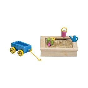 Lundby sandkasse og leker