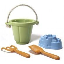 Green Toys Sandeskesett Grønn