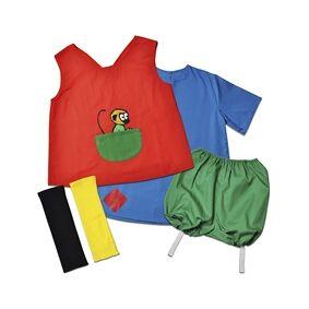 Pippi Långstrump Pippi Langstrømpe klær 2-4 år