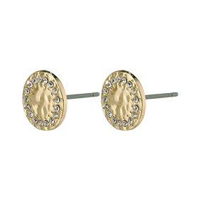Pilgrim 14204-2003 Compassion Stud Earrings Gold Plated 1 set