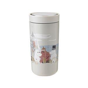 Stelton Moomin To Go Click 0,4 L 0.4 liter Soft sand