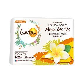 Lovea Monoï Oil Extra Mild Soap Set 1 set