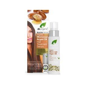 Dr Organic Moroccan Argan Oil - Hair Treatment Serum 100 ml