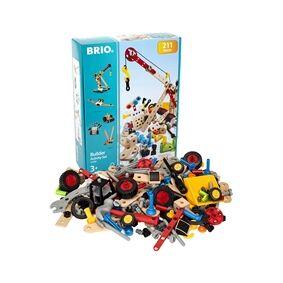 Brio 34588 Grunnsats Byggeleke 211 Deler 1 set