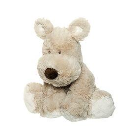 Teddykompaniet Hund Teddy Cream Stor Grå