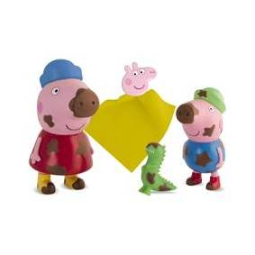 Peppa Pig Peppa Gris & George Magic Stains Badleker 1 set