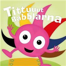 Teddykompaniet Babblarna Tittuuut Bok