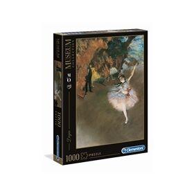 Clementoni Puslespill 1000 Deler Museum Degas Ballet