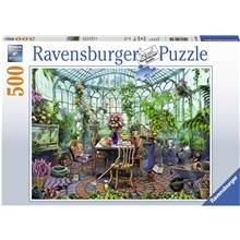 Ravensburger Puslespill 500 Deler Greenhouse Mornings