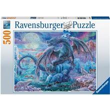 Ravensburger Puslespill 500 Deler Mysterious Dragons