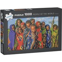 Egmont Kärnan Puslespill 1000 Biter People of the World Ethiopia