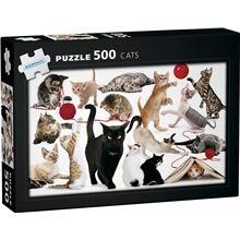 Egmont Kärnan Puslespill Cats 500 biter