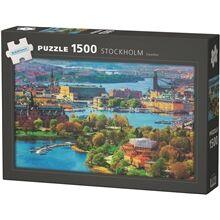 Egmont Kärnan Puslespill Stockholm, Sweden 1500 biter