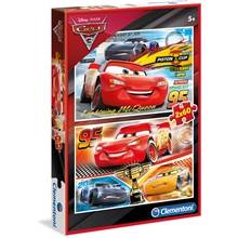 Clementoni Puslespill 2 x 60 Special Collection Cars 3